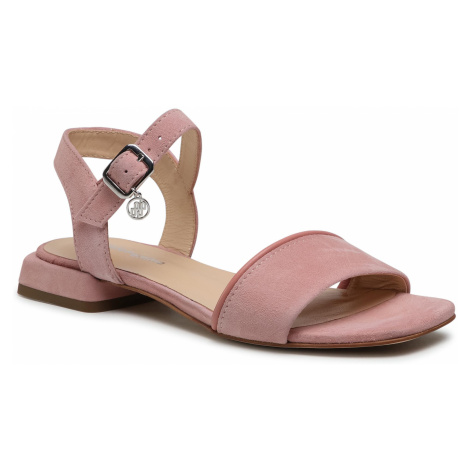 Sandały SOLO FEMME - 30506-11-L76/L78-07-00 Ciemny Róż