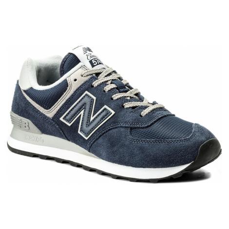 Sneakersy NEW BALANCE - ML574EGN Granatowy
