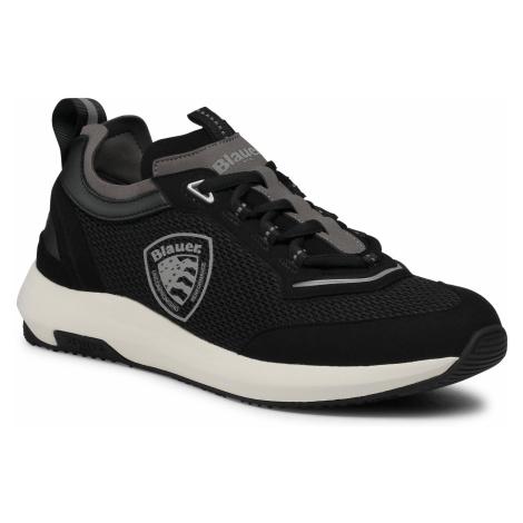 Sneakersy BLAUER - S1BYRON02/MES Black