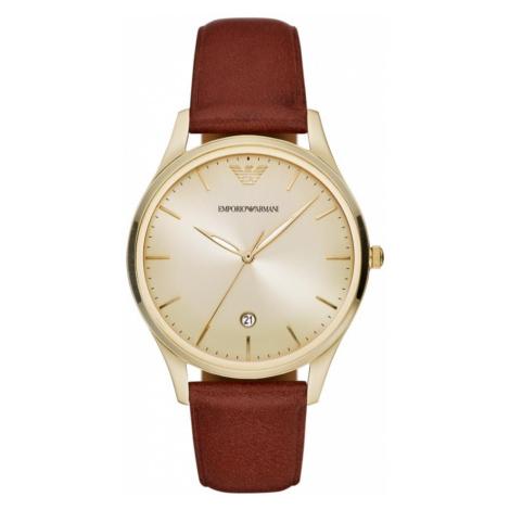 Zegarek EMPORIO ARMANI - AR11312 Brown/Gold