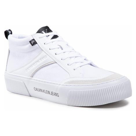 Sneakersy CALVIN KLEIN JEANS - Vulcanized YM0YM00025 Bright White YAF