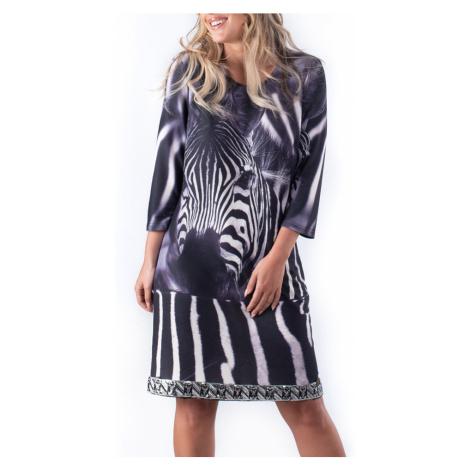 Culito from Spain czarna sukienka Zebra