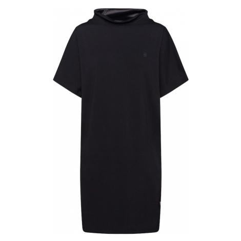 G-Star RAW Sukienka 'Joosa dress funnel' czarny