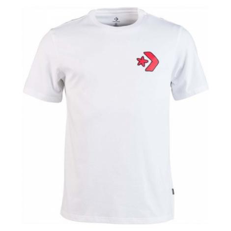 Converse CARTOON CHUCK TEE biały XL - Koszulka męska