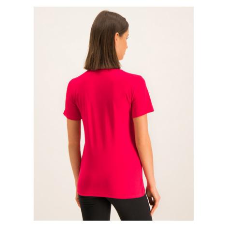 Liu Jo Sport T-Shirt T69031 J0088 Czerwony Regular Fit