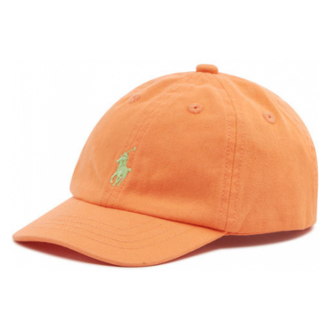Polo Ralph Lauren Czapka z daszkiem Classics II 320785653011 Pomarańczowy