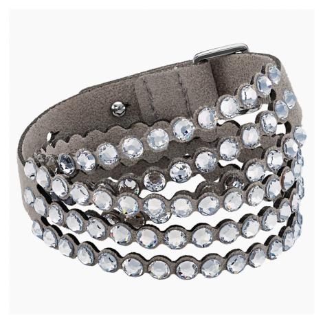 Swarovski Power Collection Bracelet, Light Gray