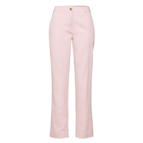 EDITED Spodnie 'Elena' różowy / różowy pudrowy