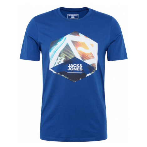 JACK & JONES Koszulka 'JCOSPEED' atramentowy