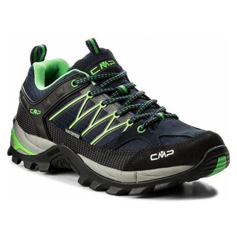 Trekkingi CMP - Rigel Lowtrekking Shoes Wp 3Q54457 B.Blue/Gecko 51AK