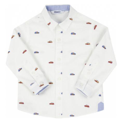 Primigi Koszula Cars Club 44161041 Biały Regular Fit