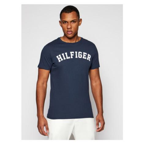 Tommy Hilfiger T-Shirt UM0UM00054 Granatowy Regular Fit