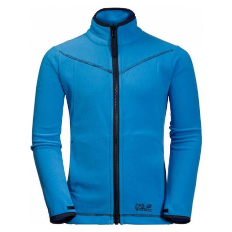 JACK WOLFSKIN Bluza polarowa funkcyjna 'Sandpiper' niebieski / kobalt niebieski