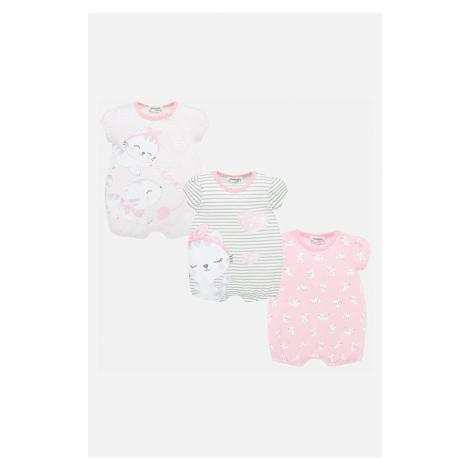 Mayoral - Body niemowlęce 60-86 cm (3-pack)