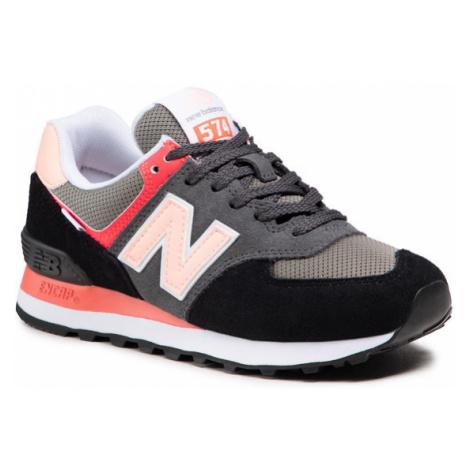 New Balance Sneakersy WL574ST2 Czarny