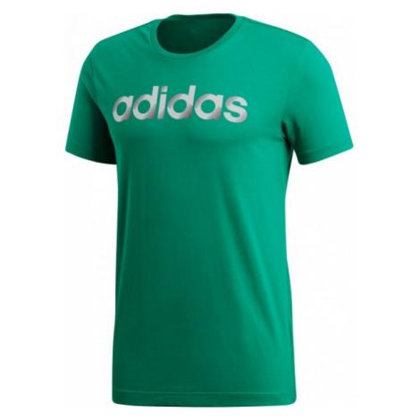 adidas SLICED LINEAR zielony XL - Koszulka męska