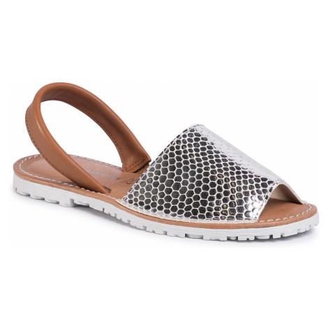 Sandały TAMARIS - 1-28916-24 Silver Str. 970