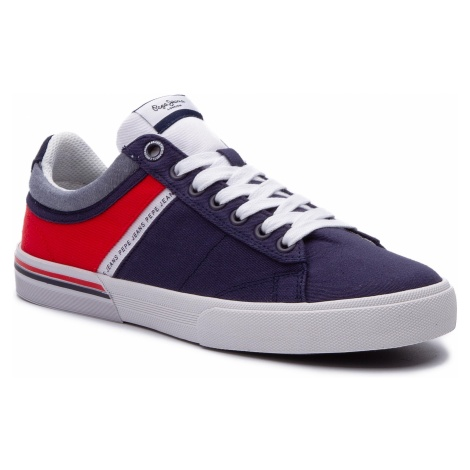 Sneakersy PEPE JEANS - North Half PMS30531 Navy 595