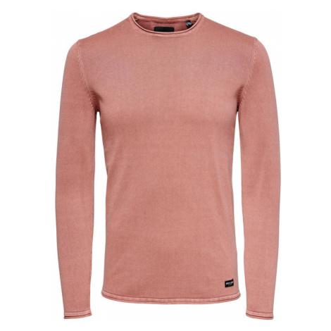 ONLY & SONS Sweter Garson 22006806 Różowy Slim Fit