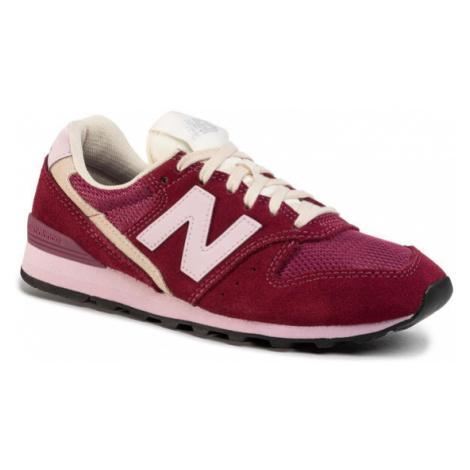 New Balance Sneakersy WL996SVB Bordowy