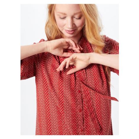 ONLY Sukienka koszulowa 'ELENA' czerwony