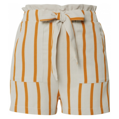NEW LOOK Spodnie żółty / biały