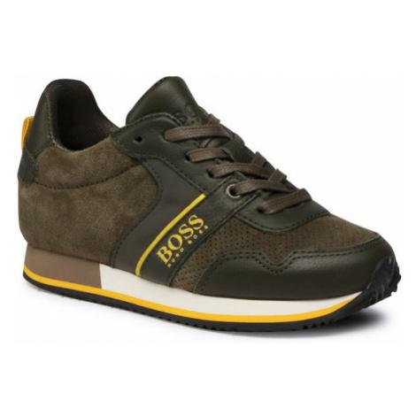 Boss Sneakersy J29253 S Zielony Hugo Boss