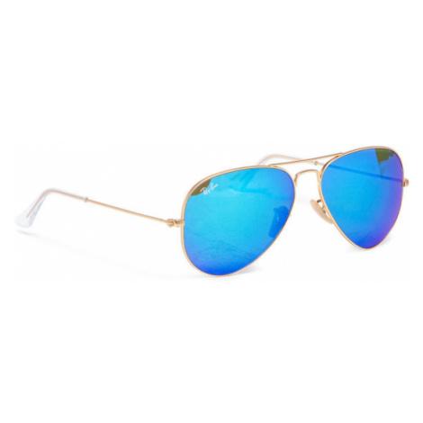 Ray-Ban Okulary przeciwsłoneczne Aviator Large Metal 0RB3025 112/17 Złoty