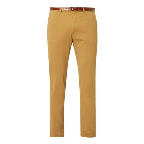 Chinosy o kroju Regular Slim Fit z paskiem Scotch & Soda