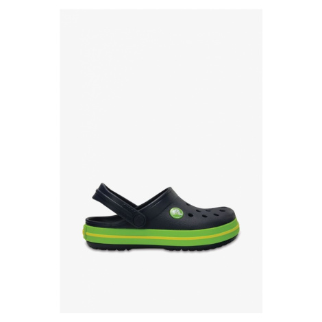 Klapki Crocs Crocband Clog K Navy/volt Green 204537-4K6 Navy