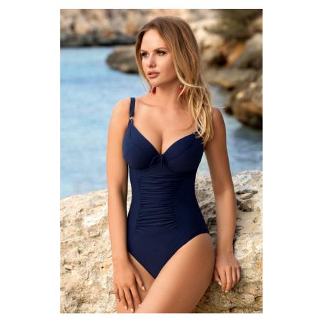 Jednoczęściowy damski kostium kąpielowy Mela Blue Aquarilla