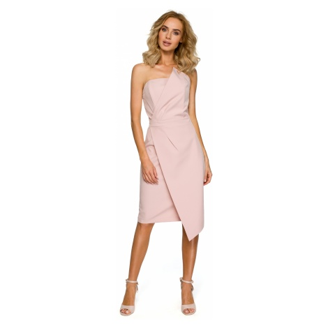 Made Of Emotion Woman's Dress M409 Powder