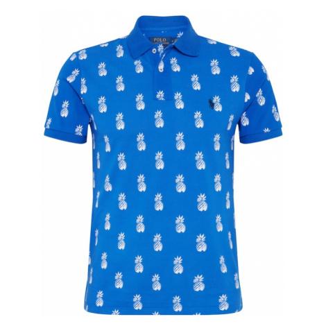 POLO RALPH LAUREN Koszulka biały / niebieski