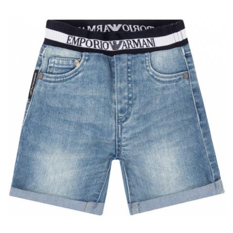 Szorty jeansowe Emporio Armani
