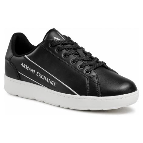 Męskie obuwie sneakersy Armani