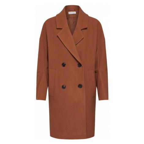 EDITED Płaszcz przejściowy 'Hanne' brązowy
