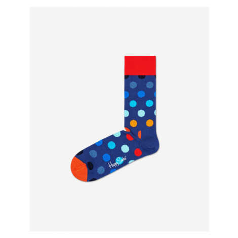Happy Socks Big Dot Skarpetki Niebieski