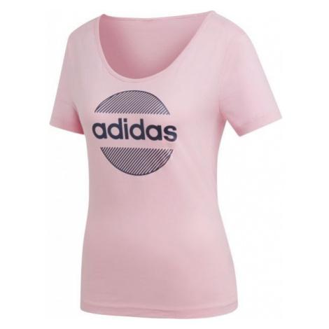 adidas LINEAR TEE II - Koszulka damska