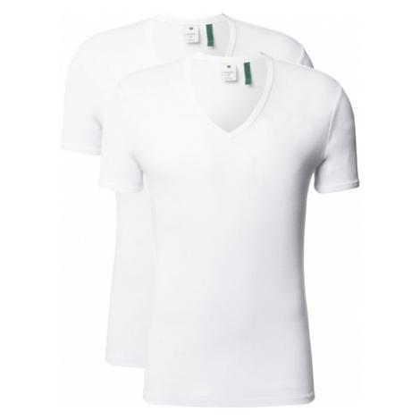 T-shirt o kroju slim fit z organicznej bawełny G-Star Raw