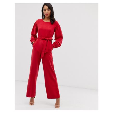 Closet puff sleeve jumpsuit