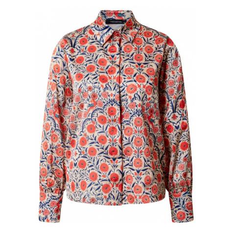 Trendyol Koszulka beżowy / czerwony / niebieski