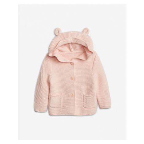 GAP Sweter dziecięcy Różowy