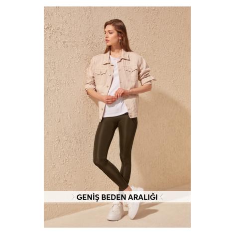 Women's leggins Trendyol Glossy