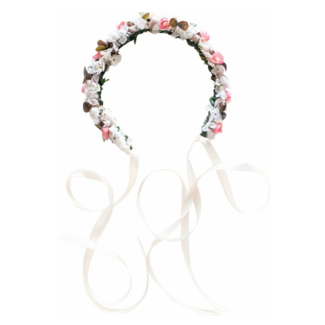 We Are Flowergirls Biżuteria do włosów 'Ola' różowy pudrowy / biały