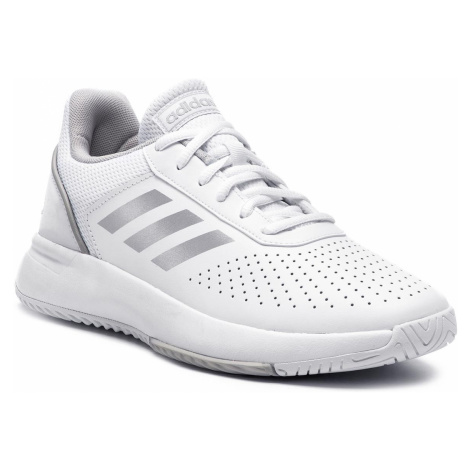 Buty adidas - Courtsmash F36262 Ftwwht/Msilve/Gretwo