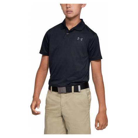 Under Armour Polo T-shirt dziecięcy Czarny