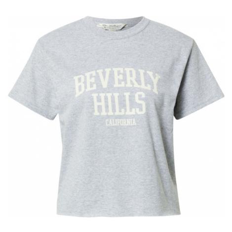Miss Selfridge Koszulka 'Beverly Hills' szary
