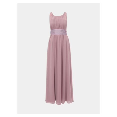 Różowa tiulowa sukienka maxi Dorothy Perkins