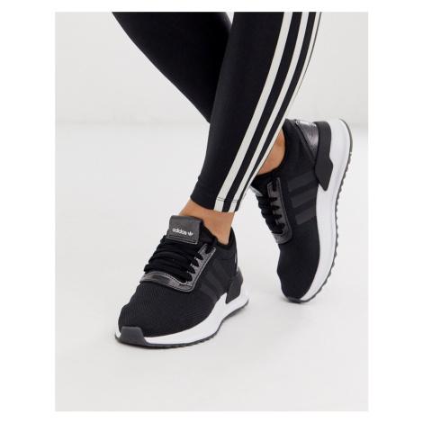Adidas Originals U Path Run trainer in black