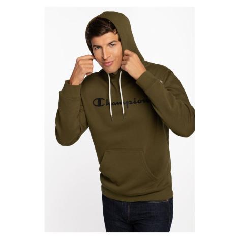 Bluza Champion Hooded Sweatshirt 214743-Ms549 Green